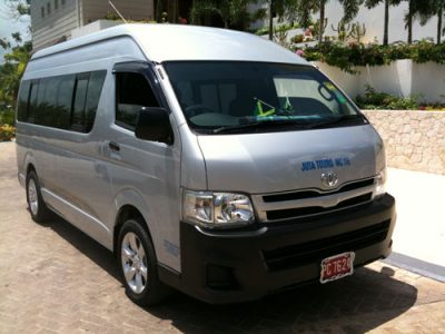 HIace for hire in nepal